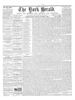York Herald, 7 Nov 1862