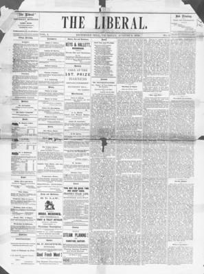 The Liberal, 8 Aug 1878