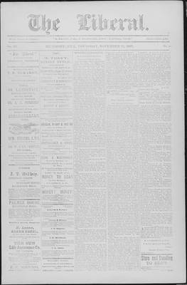 The Liberal, 18 Nov 1897
