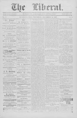 The Liberal, 30 Dec 1897