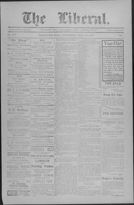 The Liberal, 10 Jul 1902