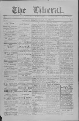 The Liberal, 17 Jul 1902