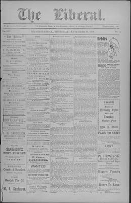 The Liberal, 24 Sep 1903