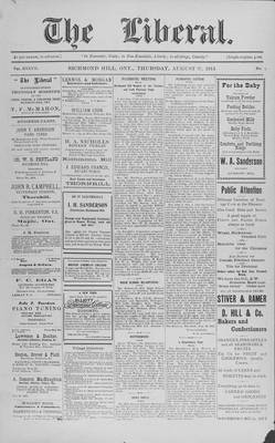 The Liberal, 27 Aug 1914