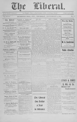 The Liberal, 24 Sep 1914