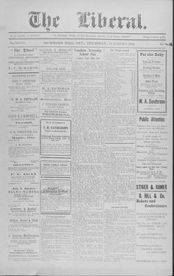 The Liberal, 8 Oct 1914