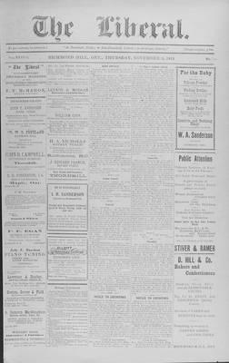 The Liberal, 26 Nov 1914