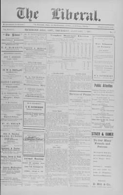 The Liberal, 7 Jan 1915