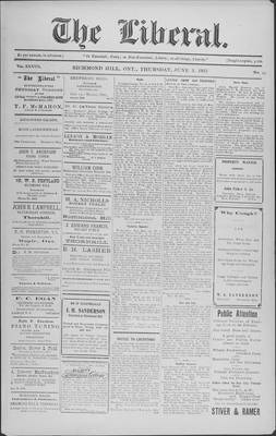 The Liberal, 3 Jun 1915