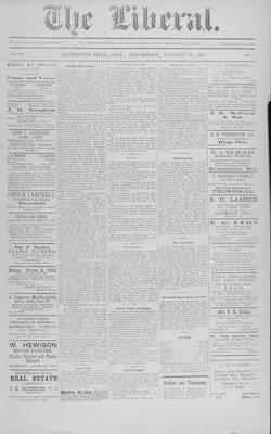 The Liberal, 23 Aug 1917