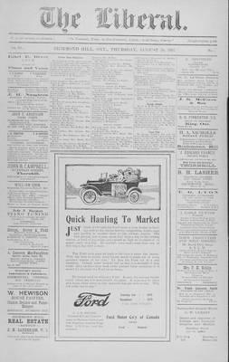 The Liberal, 30 Aug 1917
