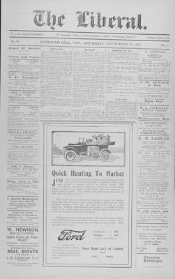 The Liberal, 27 Sep 1917
