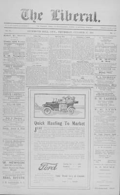 The Liberal, 11 Oct 1917
