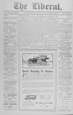The Liberal, 18 Oct 1917