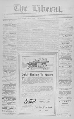 The Liberal, 25 Oct 1917