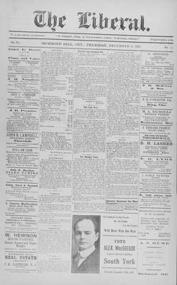 The Liberal, 6 Dec 1917