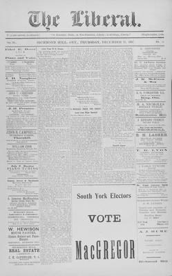 The Liberal, 13 Dec 1917