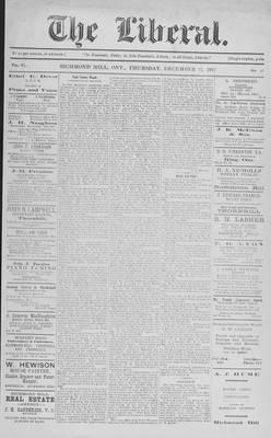 The Liberal, 27 Dec 1917