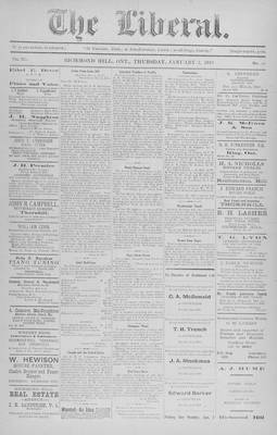 The Liberal, 3 Jan 1918