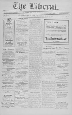 The Liberal, 17 Nov 1921