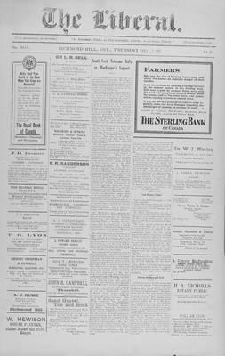The Liberal, 1 Dec 1921