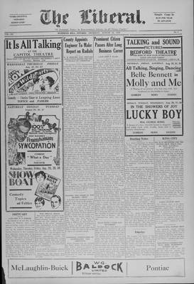 The Liberal, 22 Aug 1929