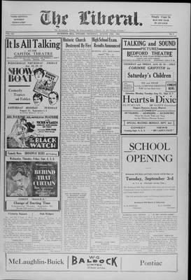 The Liberal, 29 Aug 1929