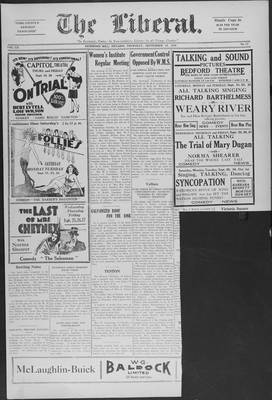 The Liberal, 19 Sep 1929
