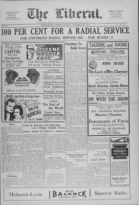 The Liberal, 21 Nov 1929