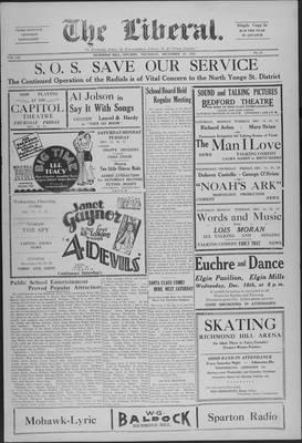 The Liberal, 12 Dec 1929