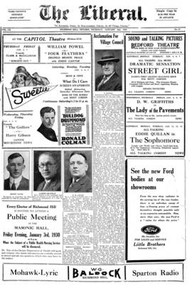 The Liberal, 2 Jan 1930