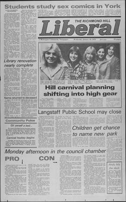 Richmond Hill Liberal, 10 Jan 1979