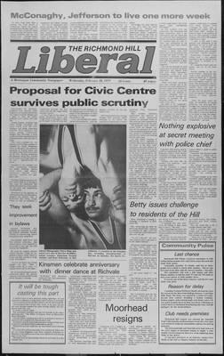 Richmond Hill Liberal, 28 Feb 1979