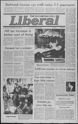 Richmond Hill Liberal, 21 Mar 1979