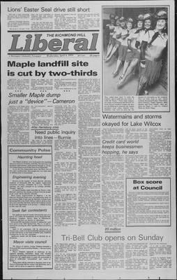 Richmond Hill Liberal, 4 Apr 1979