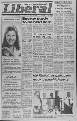 Richmond Hill Liberal, 15 Aug 1979