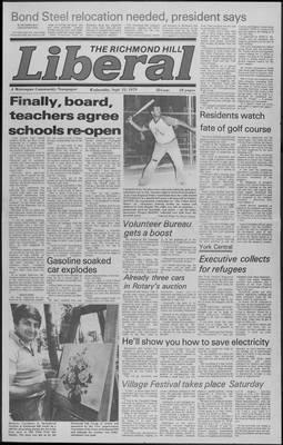 Richmond Hill Liberal, 12 Sep 1979