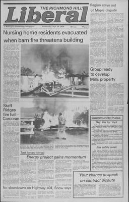 Richmond Hill Liberal, 19 Sep 1979