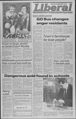 Richmond Hill Liberal, 10 Oct 1979