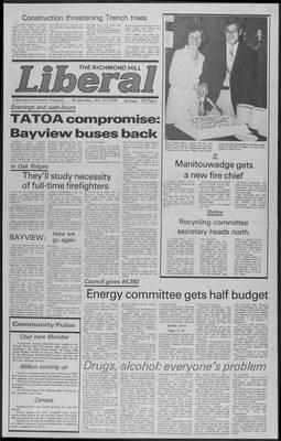 Richmond Hill Liberal, 17 Oct 1979
