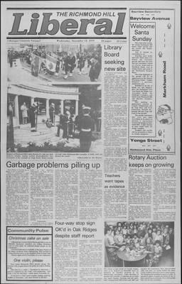 Richmond Hill Liberal, 14 Nov 1979