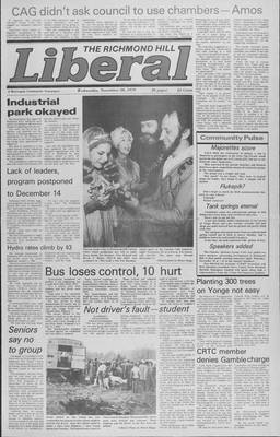 Richmond Hill Liberal, 28 Nov 1979