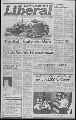 Richmond Hill Liberal, 12 Dec 1979