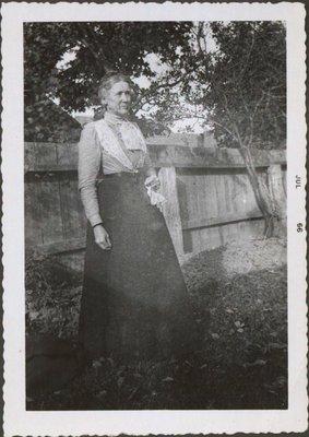 Photograph of Mrs. Hall
