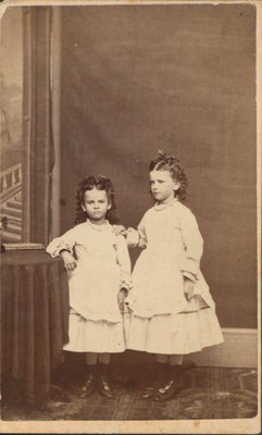 Photograph of two little girls