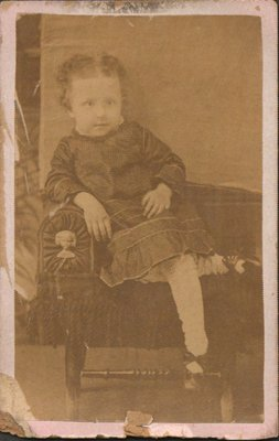 Photograph of a little girl