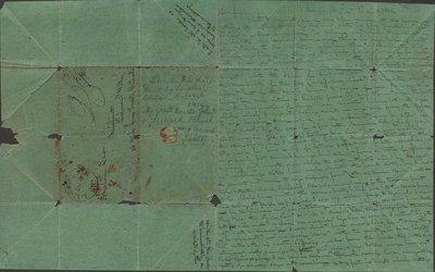 Letter of John Klinck to Abraham Law