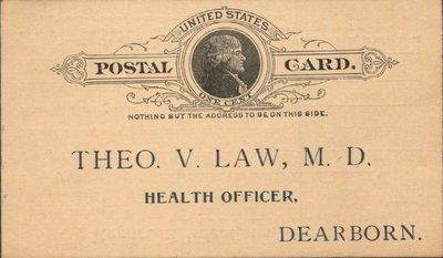 United States Postal Card