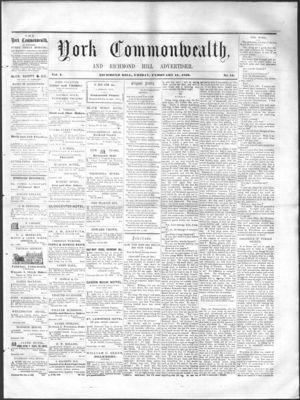 York Commonwealth, 11 February 1859