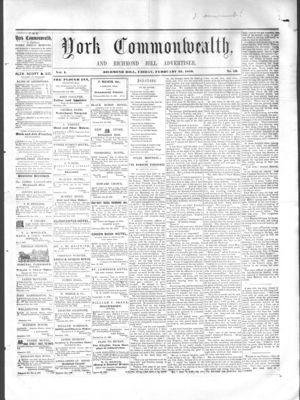York Commonwealth, 25 Feb 1859